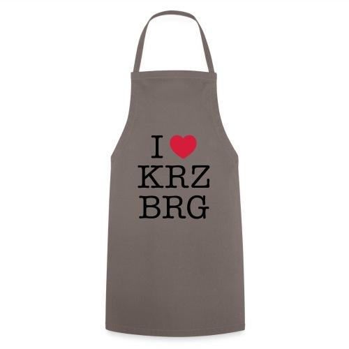 I love KRZBRG - Kochschürze