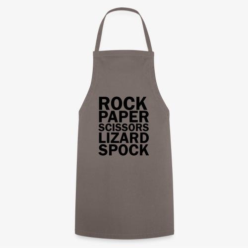 rock paper scissors lizard spock - Cooking Apron