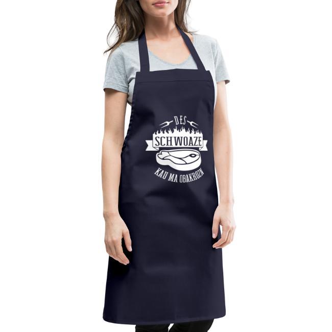 Vorschau: des schwoaze kau ma obakrozn - Kochschürze