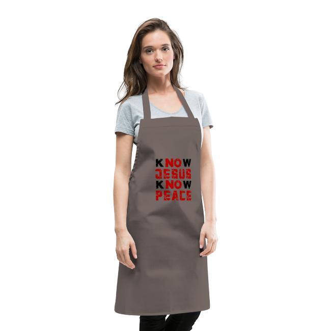 Know Jesus Know Peace (Flower Design)