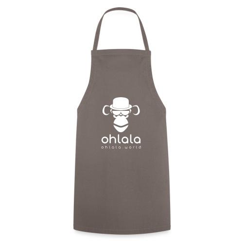 Ohlala Boss WHITE - Tablier de cuisine