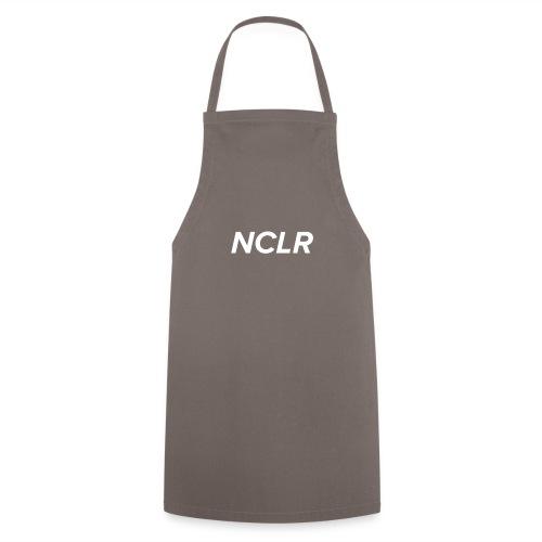 nclr white on black - Keukenschort