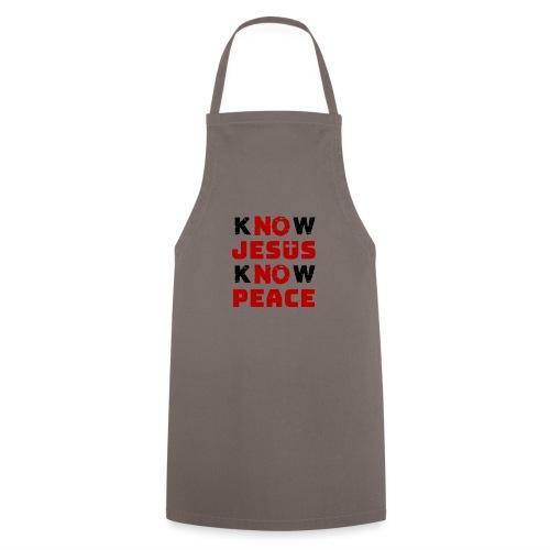 Know Jesus Know Peace (Classic) - Kochschürze