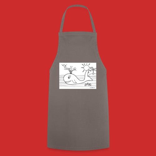 disegno_balenotta_da_colorare-jpg - Grembiule da cucina