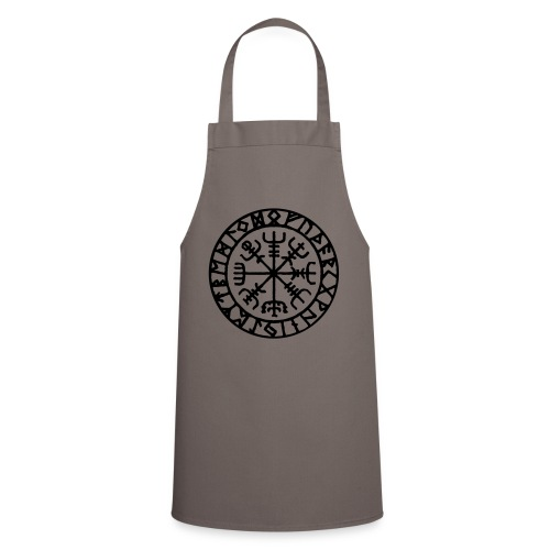 vegvisir Wegweiser Kompass Island Schutzsymbol - Kochschürze