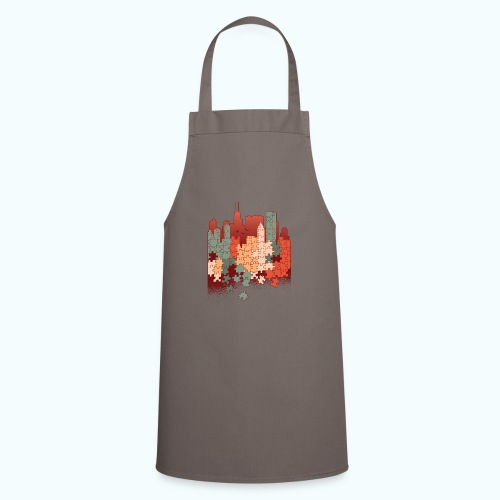 Puzzle fan - Cooking Apron