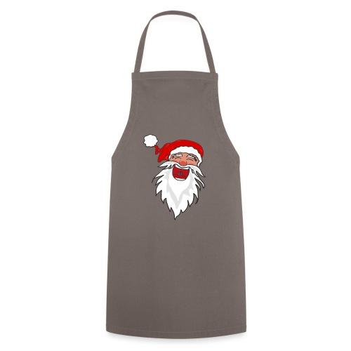 Lachender Nikolaus Santa Clause Weihnachten - Kochschürze