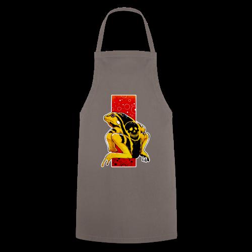 Death Frog - Fartuch kuchenny