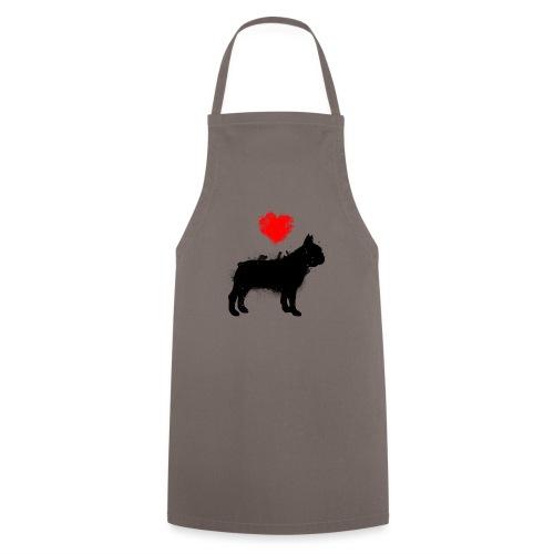 Französische Bulldogge Wunschname - Kochschürze