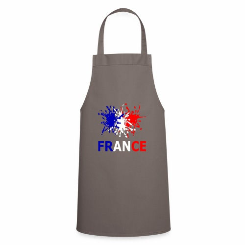 France - red white blue - Cooking Apron