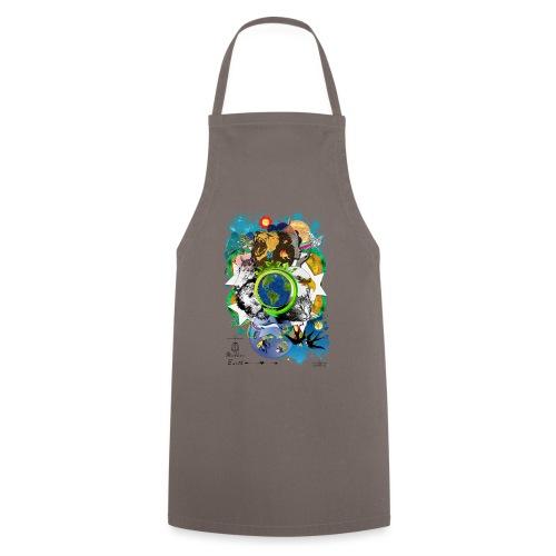 Mother Earth - black (us) -by T-shirt chic et choc - Tablier de cuisine