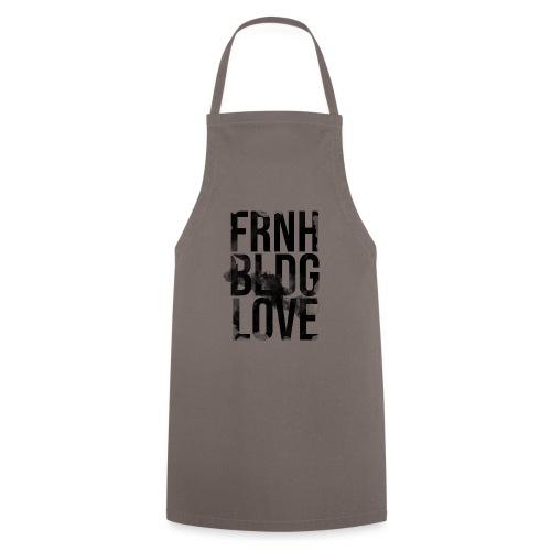 Französische Bulldogge Liebe wasserfarben - Kochschürze