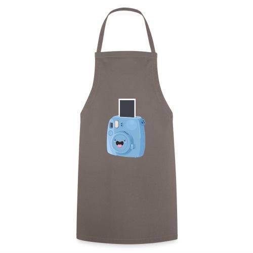 Appareil photo instantané bleu - Tablier de cuisine