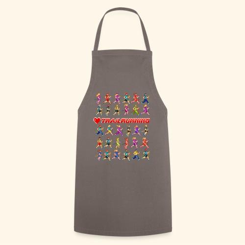 LOVE TRAILRUNNING PIXEL - Grembiule da cucina