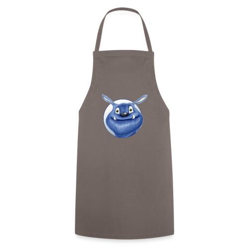 blaues Monster - Kochschürze