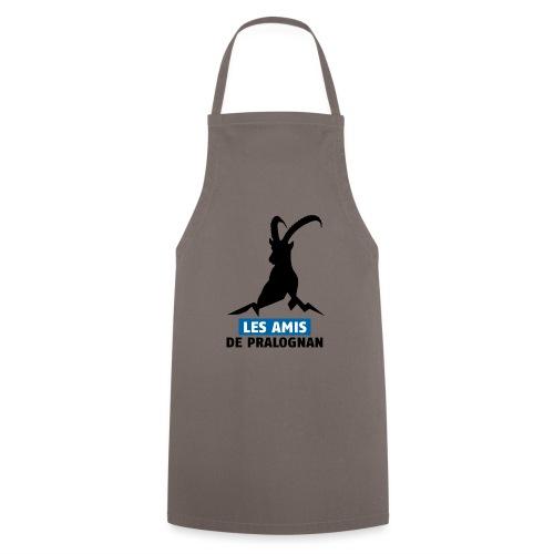Logo Les Amis de Pralo grand noir - Tablier de cuisine