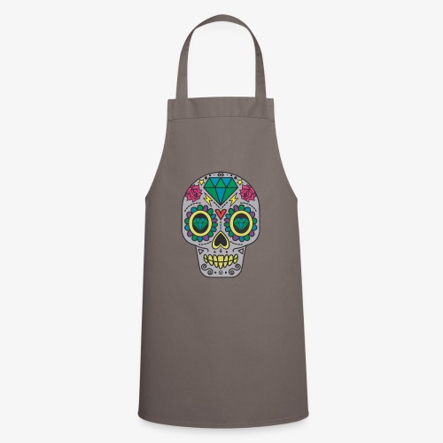 Calavera Mexicana - Delantal de cocina