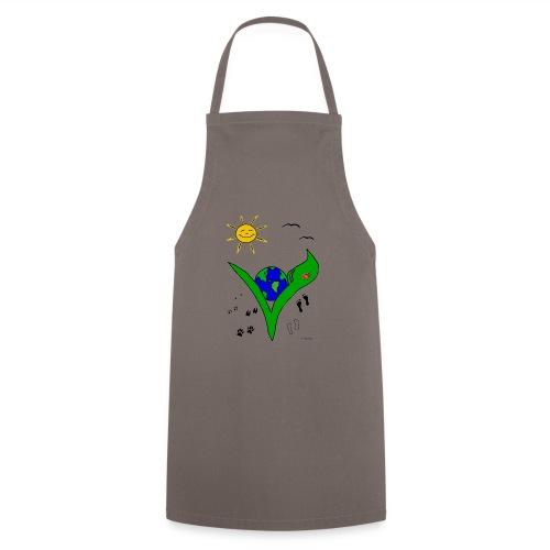 Ein Logo geht um die Welt - Kochschürze