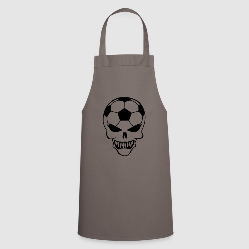 Fußball-Totenkopf - Kochschürze