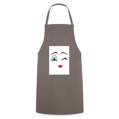 Winky emoji jpg - Cooking Apron