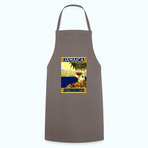 Jamaica Vintage Travel Poster - Cooking Apron