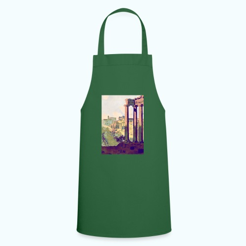 Rome Vintage Travel Poster - Cooking Apron