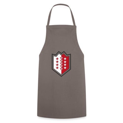 Bouclier moderne du Valais - Kochschürze