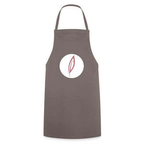 Logo - Rond blanc - Tablier de cuisine