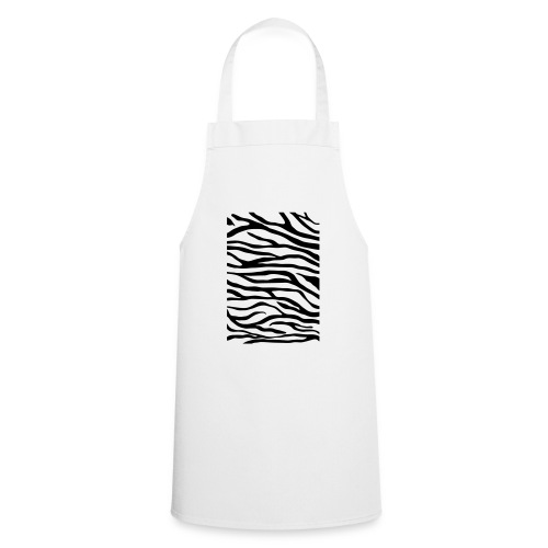 zebra v6 - Keukenschort