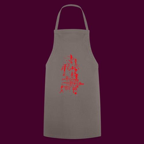 Estela de guerrero - Delantal de cocina