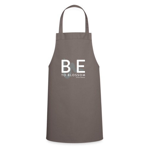 be to blossom swoosh (white) - Cooking Apron