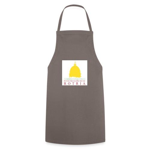 Koszulka z logo PKR - Fartuch kuchenny
