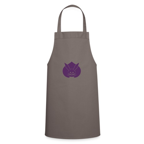 Usagi kamon japanese rabbit purple - Cooking Apron