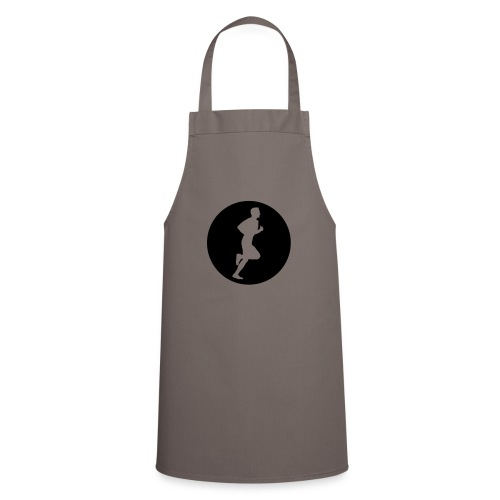 Sportlershirt Logo mono - Kochschürze