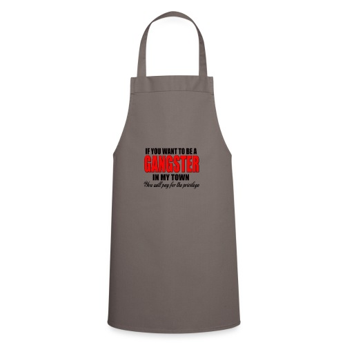 ville gangster - Tablier de cuisine