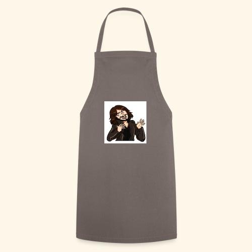 LJG WHITE BG - Cooking Apron