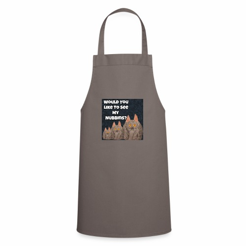 Would you like to see my Nubbins? - Cooking Apron