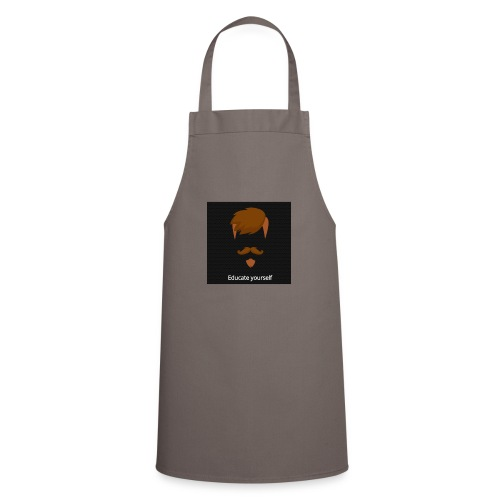 educate yourself - Cooking Apron
