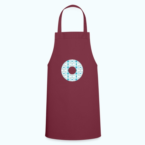Hippie flowers donut - Cooking Apron