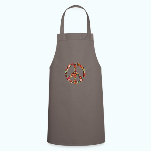 Flowers children - peace - Cooking Apron