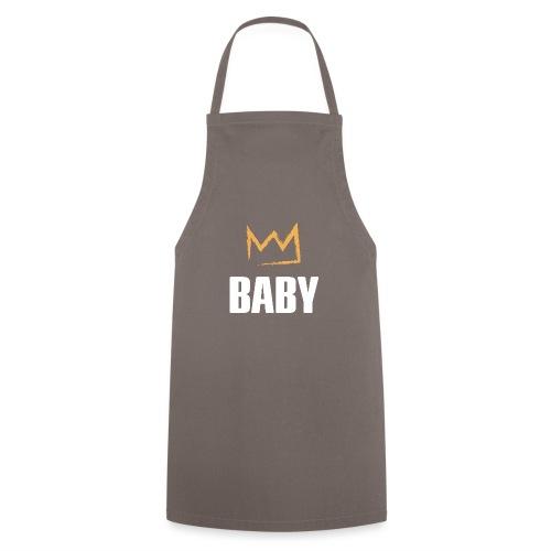 Baby mit Krone - Kochschürze