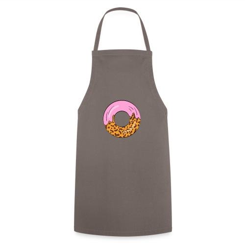 strawberry doughnut cartoon - Kochschürze