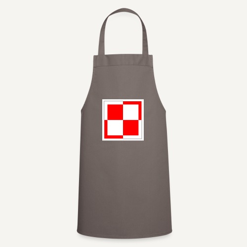szachownica - Fartuch kuchenny