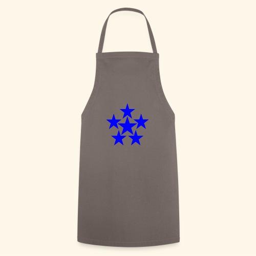 5 STAR blau - Kochschürze
