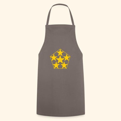 5 STAR gelb - Kochschürze