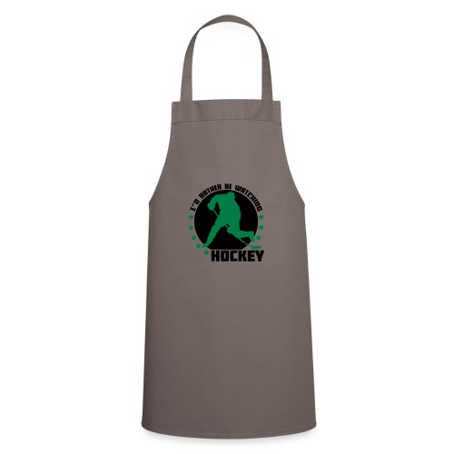 I'd Rather Be Watching Hockey - Cooking Apron