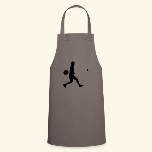 tennis woman 2 - Tablier de cuisine