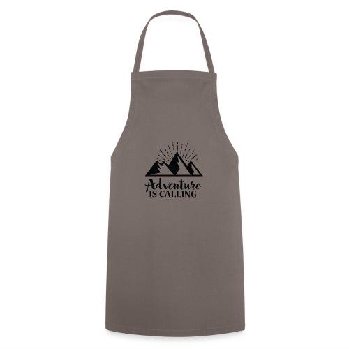 Adventure is calling Camping Mountain Go Explore - Tablier de cuisine