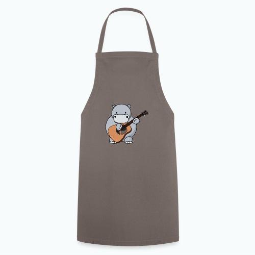 Henri Hippo Guitar - Appelsin - Förkläde