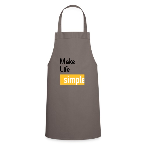 Make Life Simple - Tablier de cuisine